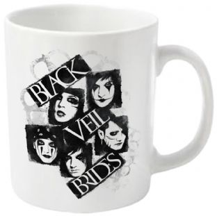 Black Veil Brides: Face It - MUG (11oz) (Brand New In Box)